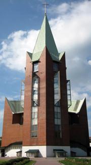 Церковь. Главная башня.