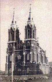 Первый католический храм в Челябинске