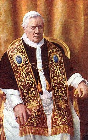 Св. Пий X, папа