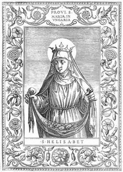 Святая Елизавета Венгерская, монахиня