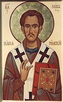 Св. Лев Великий, папа и учитель Церкви