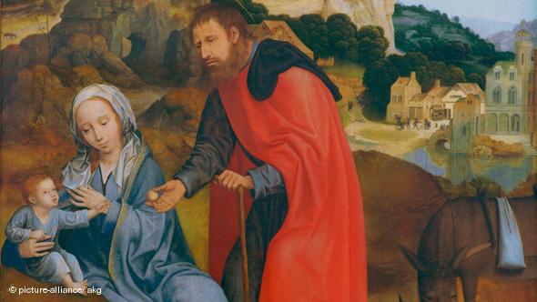Святое семейство Иисус, Мария и Иосиф