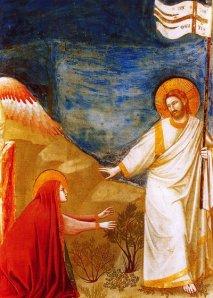 Джотто. Христос и Мария Магдалина