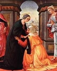 Посещение Пресвятой Богородицей святой Елисаветы